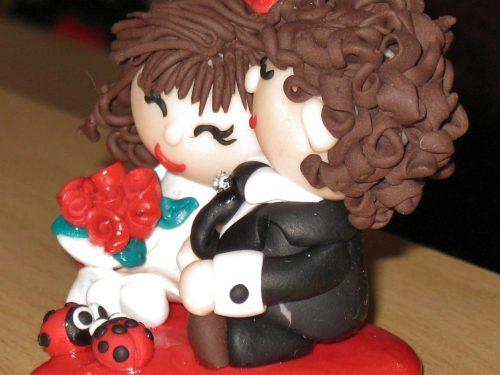 Bomboniere per matrimonio in Fimo