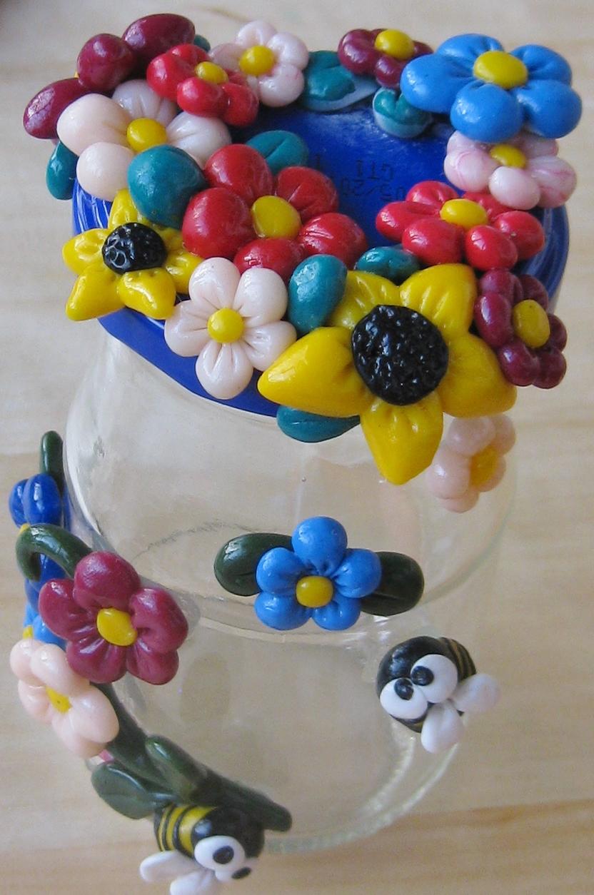 Altre idee regalo: barattoli decorati - La bottega delle coccinelle