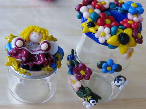 Altre idee regalo: barattoli decorati