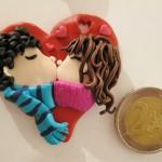 idee regalo per SAN VALENTINO, fatte a mano, fai da te, fimo | La bottega delle coccinelle