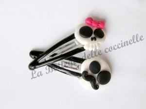 accessori per capelli realizzati a mano