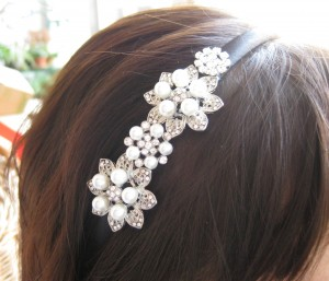 cerchietto per capelli - sposa