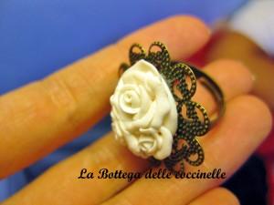 anello rose - idea regalo personalizzabile - fatto a mano