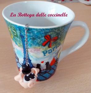 diffusore tè-bomboniera originale fatta a mano