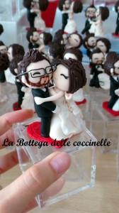 bomboniere e cake topper per matrimonio originali - fatte a mano