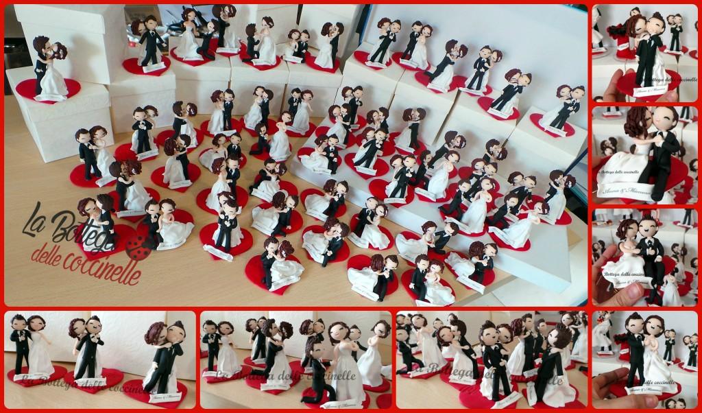 bomboniere per matrimonio personalizzate alte 10 cm x 10 cm di base