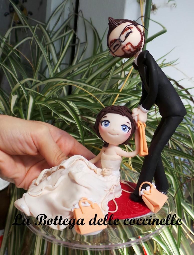 cake topper per matrimonio originali - fatti a mano