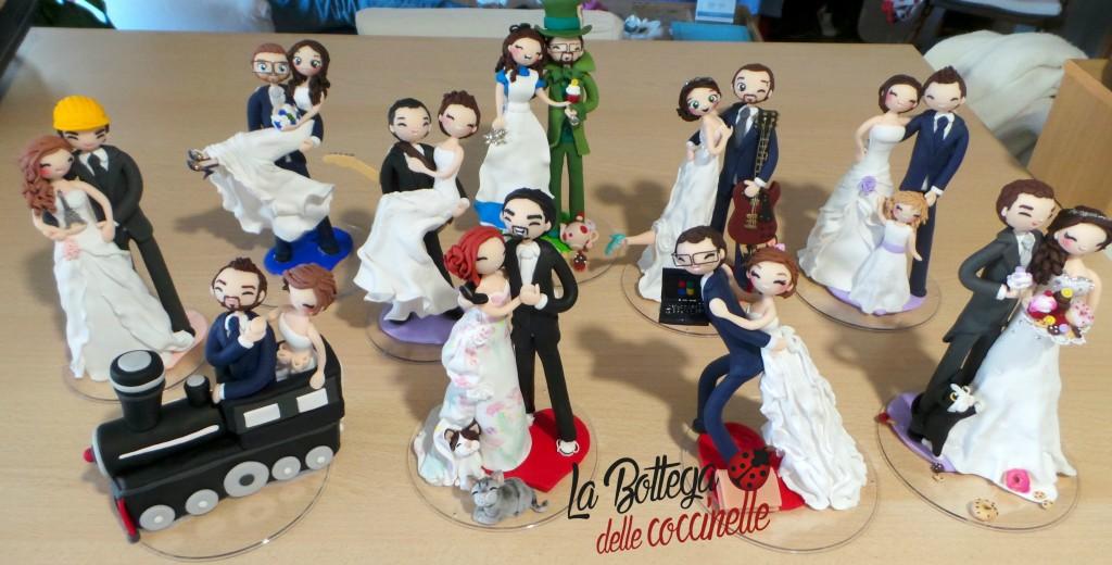 decorazioni per torta di matrimonio personalizzate