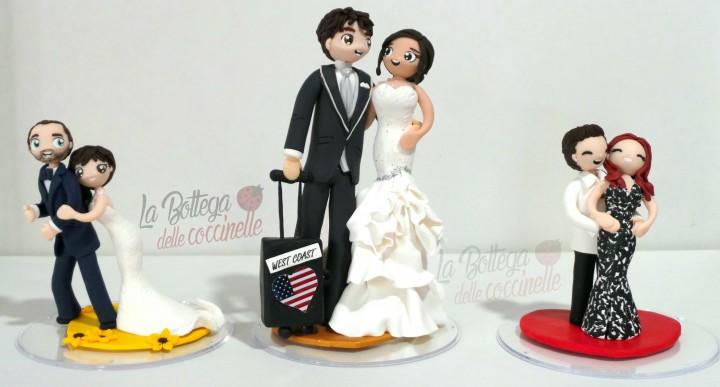 Sposini per la torta nuziale