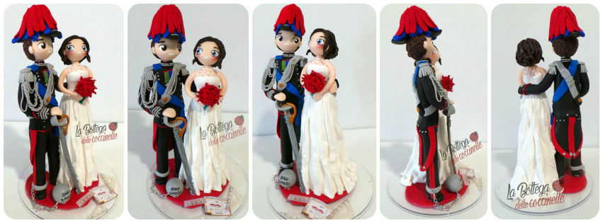 decorazione per torta di matrimonio