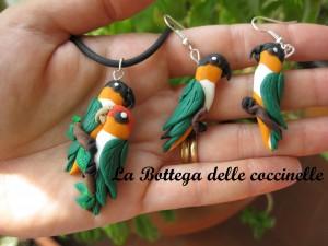 parure pappagalli