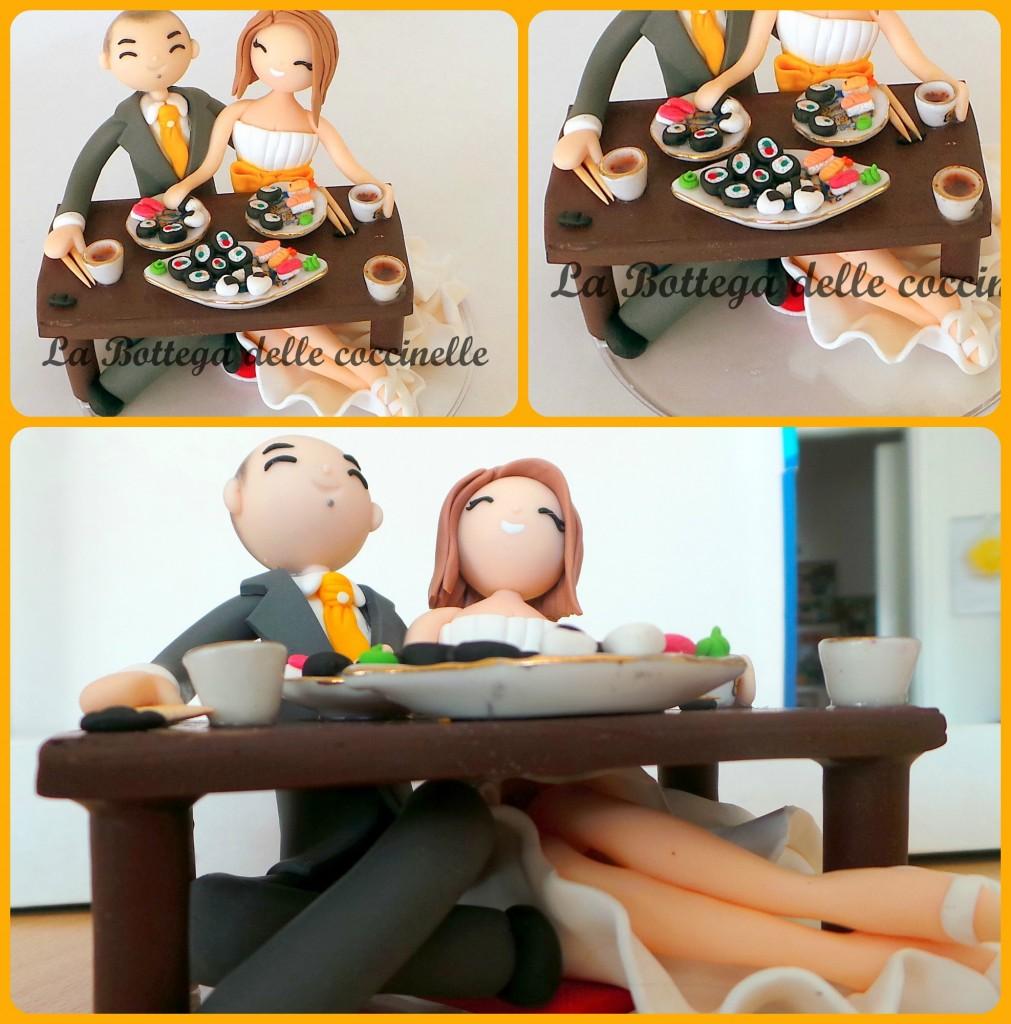 decorazione per torta nuziale