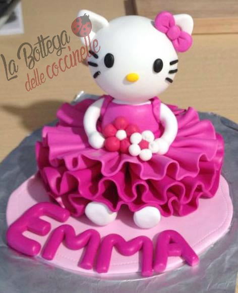 decorazione per torta bimba