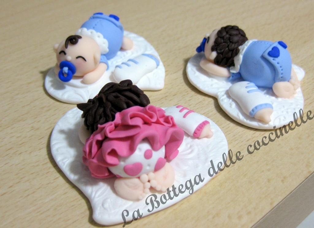 Bomboniere per bambini - nascita - comunione - fatte a mano