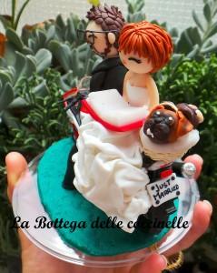 cake topper personalizzato fatto a mano
