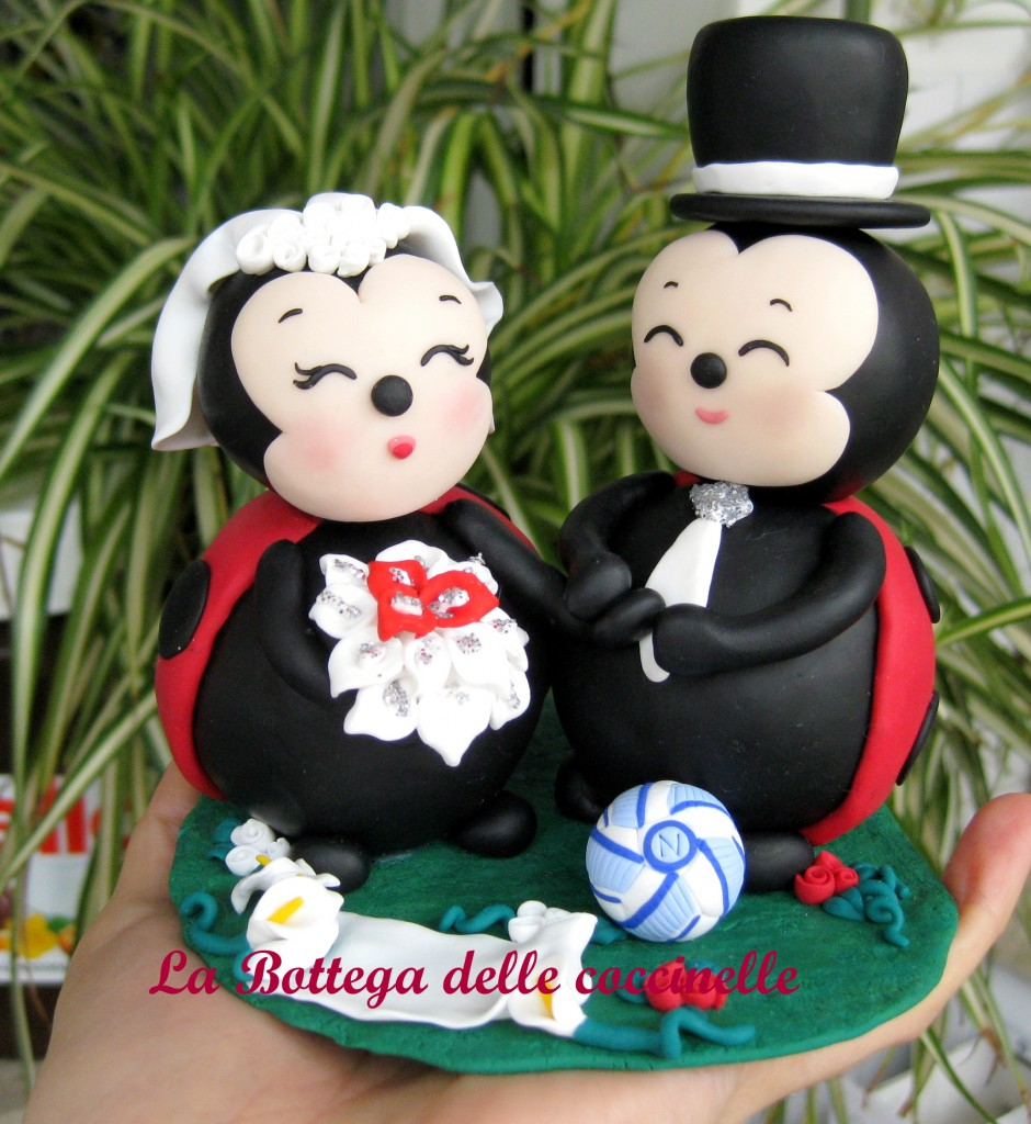 cake topper per matrimonio originali e divertenti