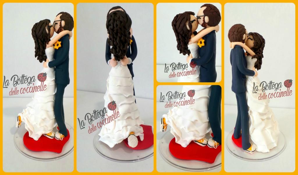 decorazione per torta in fimo