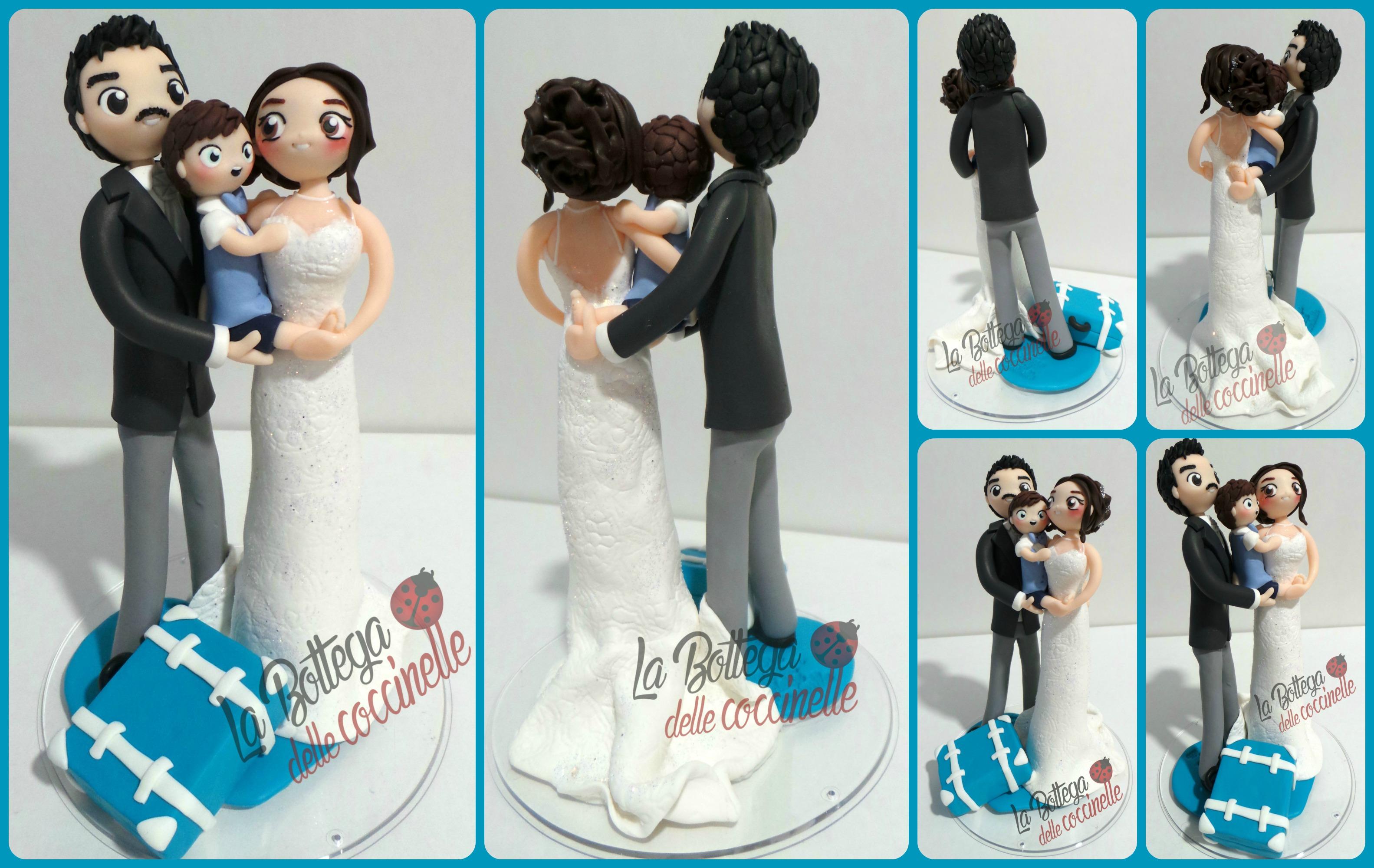 Bomboniere Per Matrimonio E Battesimo Insieme.Wedding Cake Topper Tema Viaggio