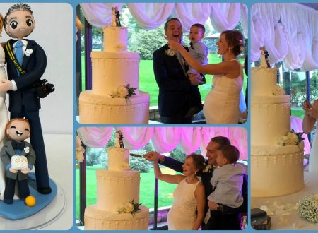 i miei sposi e i loro cake topper