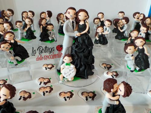 cake topper e bomboniere personalizzate