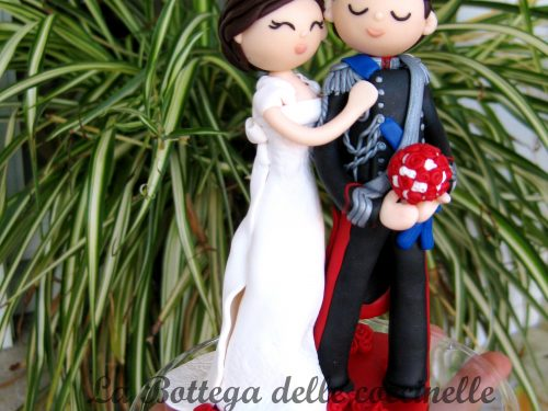 "cake topper ""in divisa"""