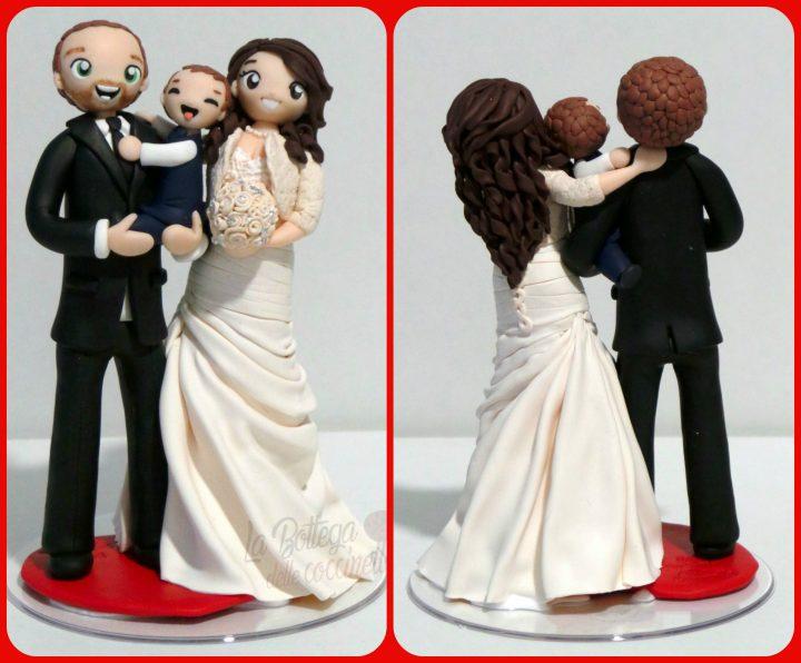 cake topper di famiglia