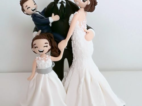 "cake toppers ""in famiglia"""