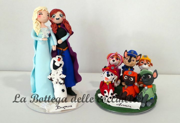 cake topper bimbi - nascita- battesimo - compleanno