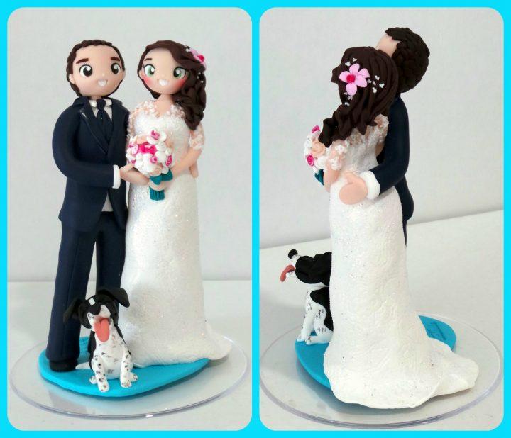 cake topper per torta nuziale - personalizzati - fatti a mano
