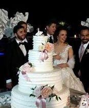 i miei sposi con i loro cake topper