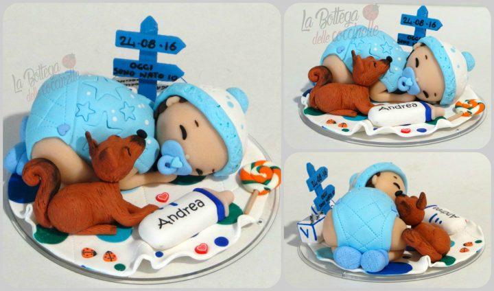 cake topper per bambini - battesimo - compleanni