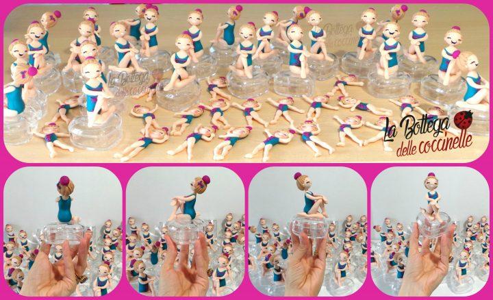 bomboniere fatte a mano per compleanni - comunione - cresima statuine su scatola in pvc a forma di cuore