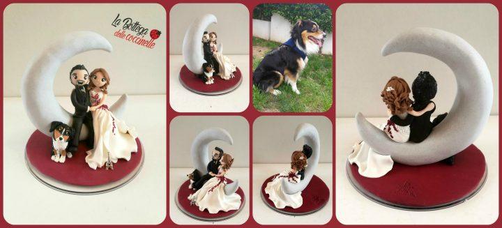 decorazione per torta romantico