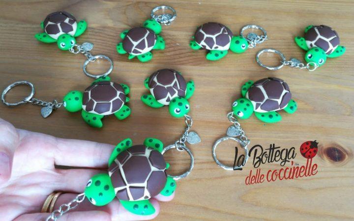 portachiavi tartaruga