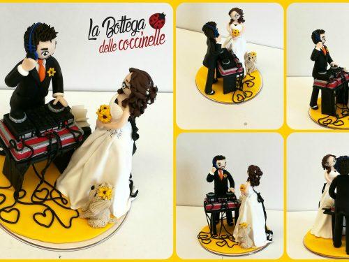 cake topper musicali
