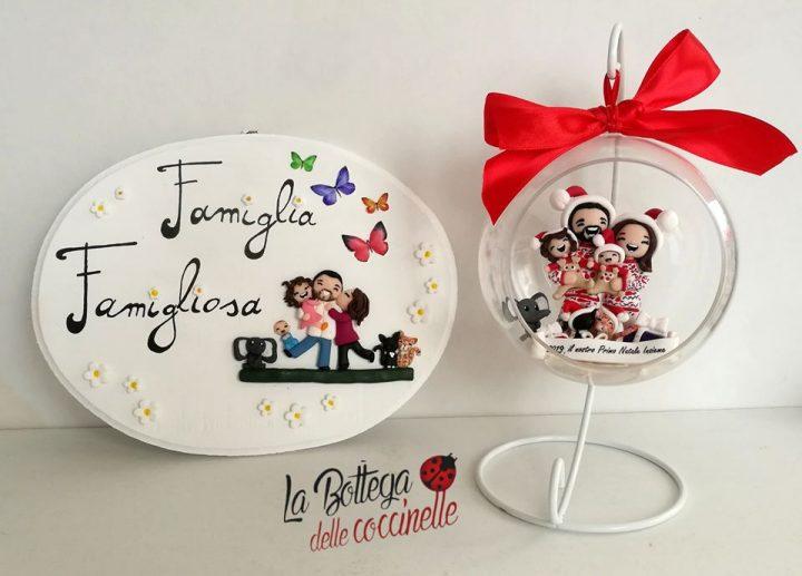 regali per Natale personalizzati e fatti a mano in fimo